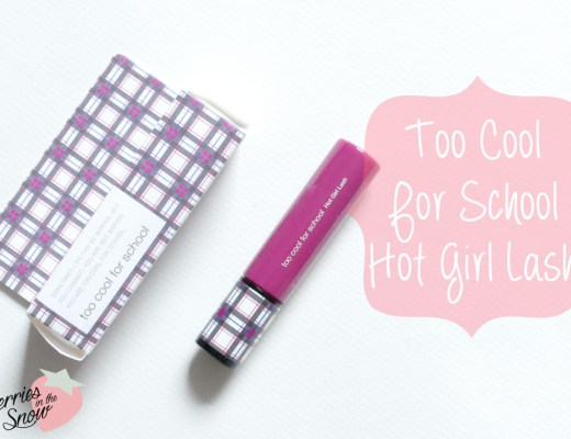 Too Cool For School Hot Girl Lash