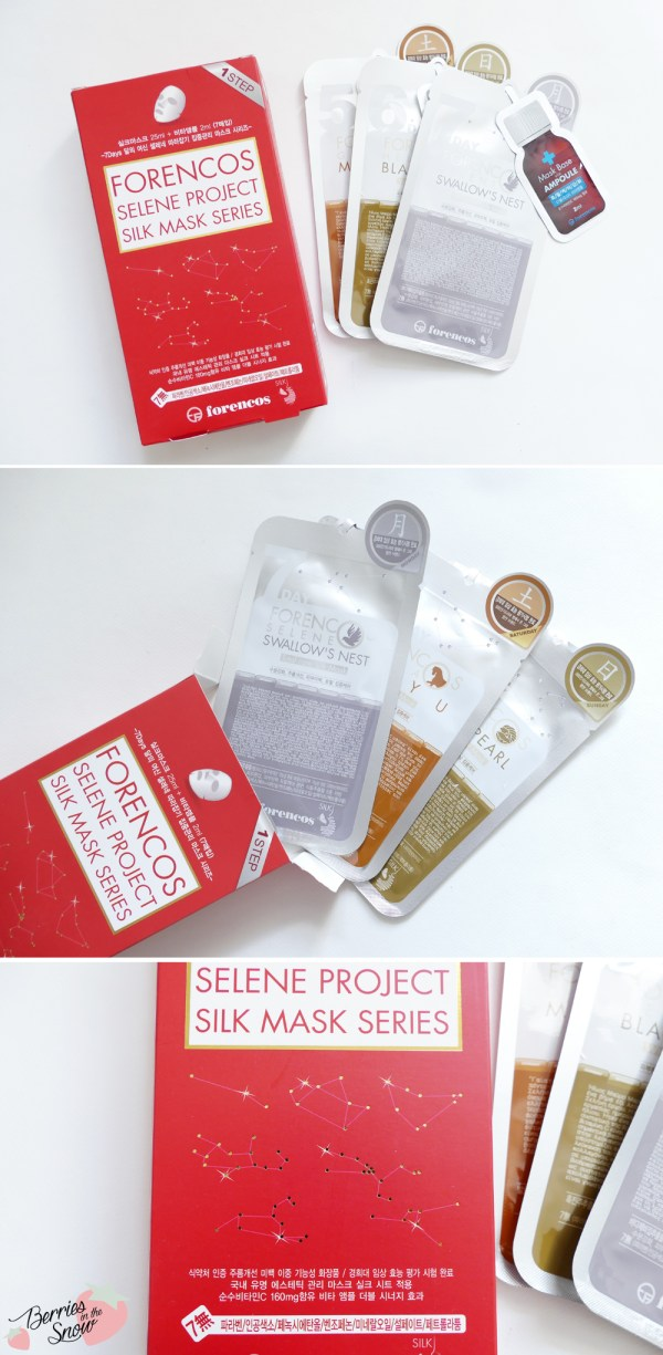 Forencos Selene Project Silk Mask Series