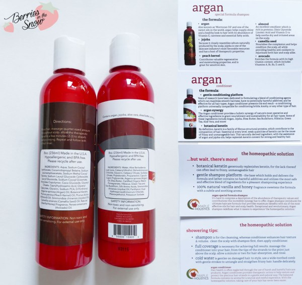 MapleHolistics Natural Beauty Products