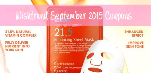 Wishtrend September 2015 Coupons