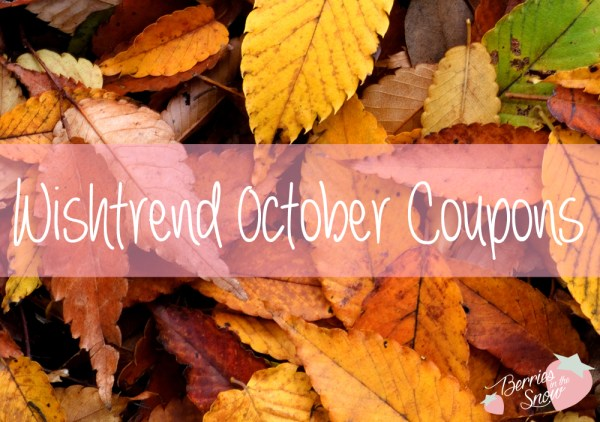 Wishtrend October 2015 Coupons
