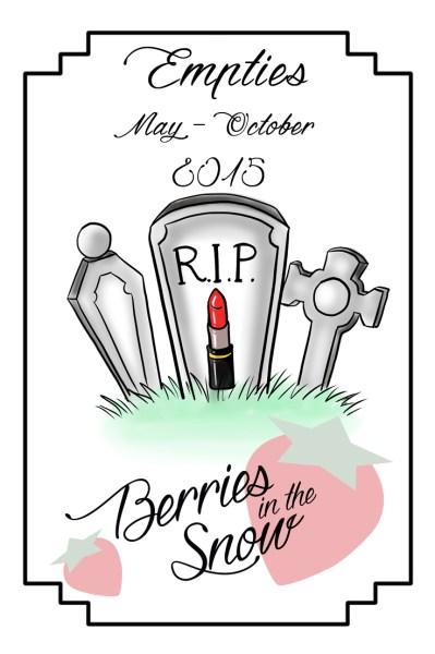 Graveyard: May - October Empties 2015
