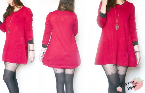 Knitted Dress from Gearbest
