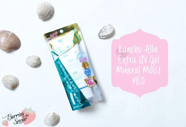 Kanebo Allie Extra UV Gel Mineral Moist Neo
