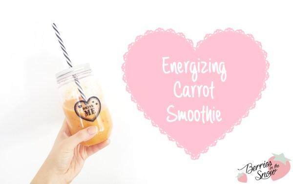Energizing Carrot Smoothie