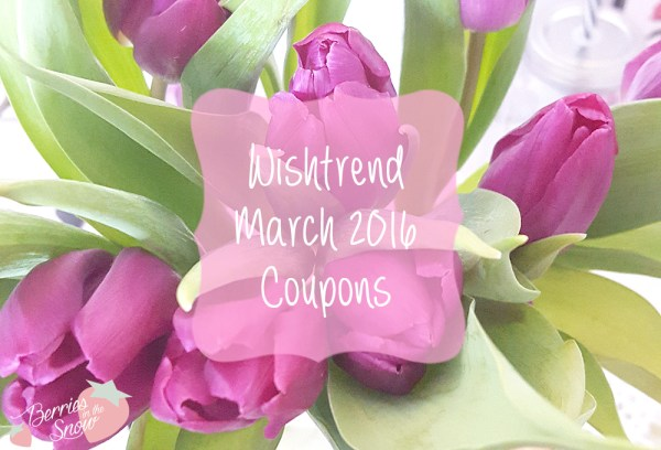 Wishtrend March 2016 Coupons