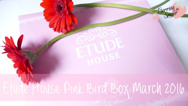Etude House Pink Bird Box March