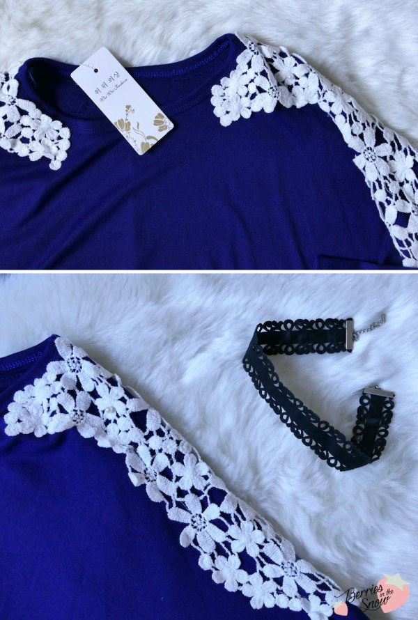 Floral Beads Patchwork Blouse from Froomer