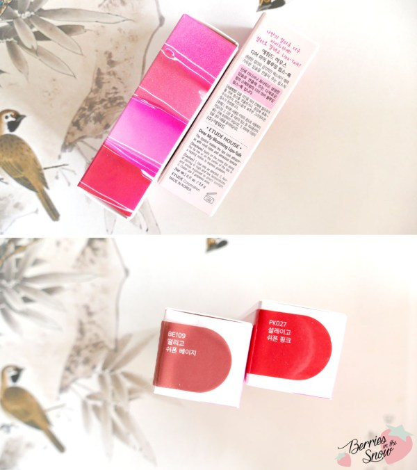 Etude House Dear My Dear Lip-Talk Chiffon