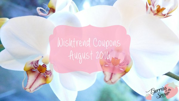 Wishtrend Coupons August 2016