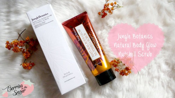 Jungle Botanics Natural Body Glow Nutshell Scrub
