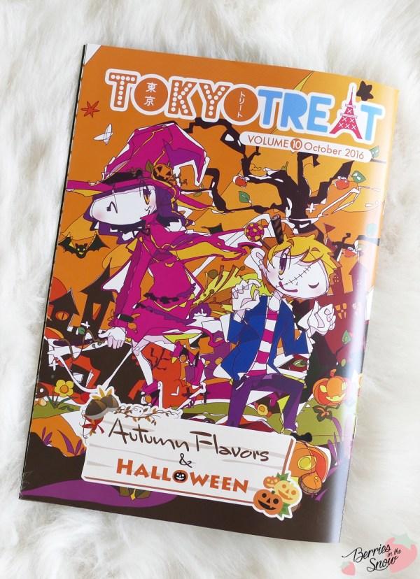 TokyoTreat Box October 2016