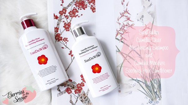 SanDaWha Camellia Shampoo and Conditioner