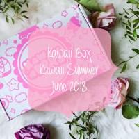 Unboxing: Kawaii Box June 2018 & Giveaway