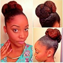 Natural hair pic from Pinterest,00's.