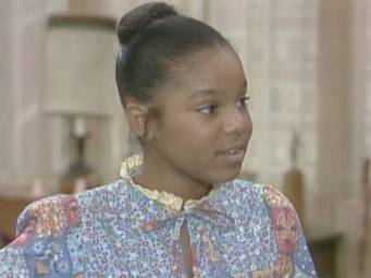 """Janet Jackson as """"Penny"""",on the 70's tv show,Goodtimes."""
