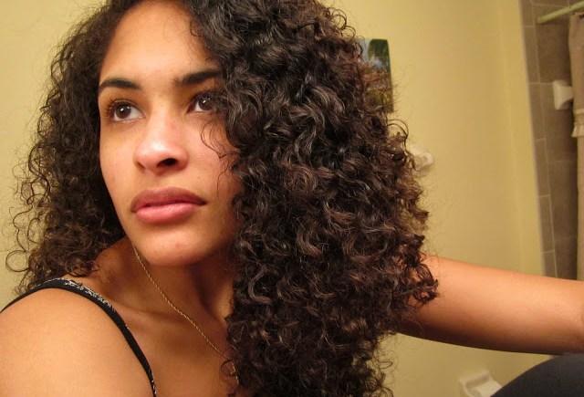 Andrea's Heatless Curls