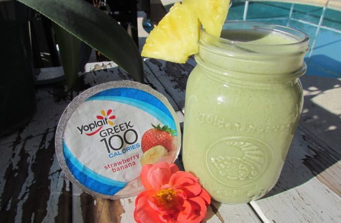 Yoplait Greek Yogurt Kale Smoothie