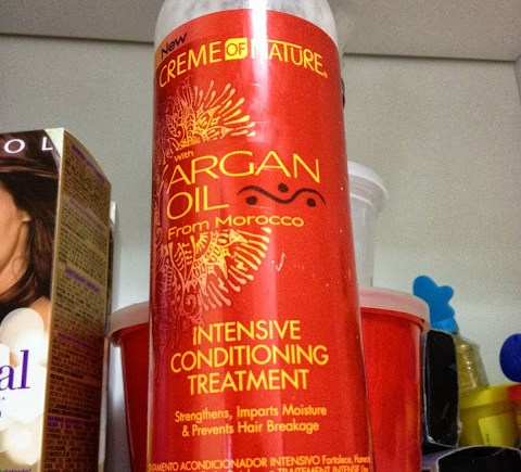 Creme of Nature Argan Oil Intense Conditioning Treatment