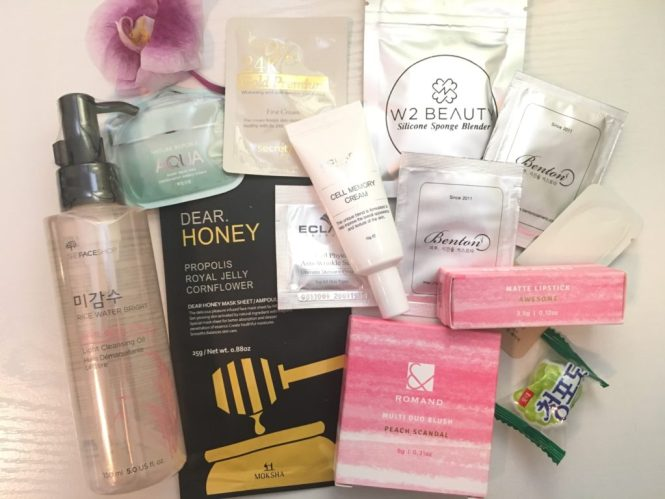 Korean Beauty from W2Beauty:the faceshop, Romand, Benton, Moksha