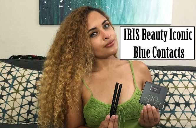 Blue Contacts Review Iris Beauty