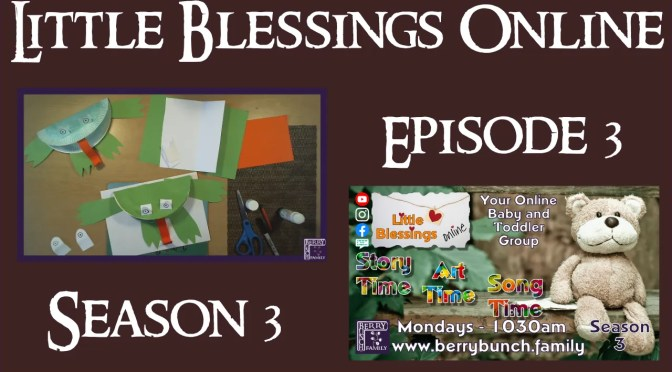 Little Blessings Online, Series 3, Episode 3, It's Raining Cats and Frogs