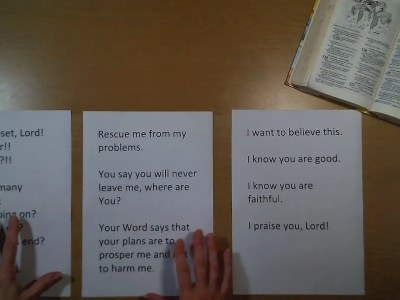 Object Lesson, Write A Psalm