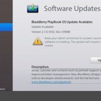 BlackBerry PlayBook OS 2.1.0.1032 officially available for download