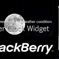 Weather Clock Widget - Get all Weather info on BlackBerry Smartphone