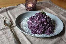 Blueberry Risotto