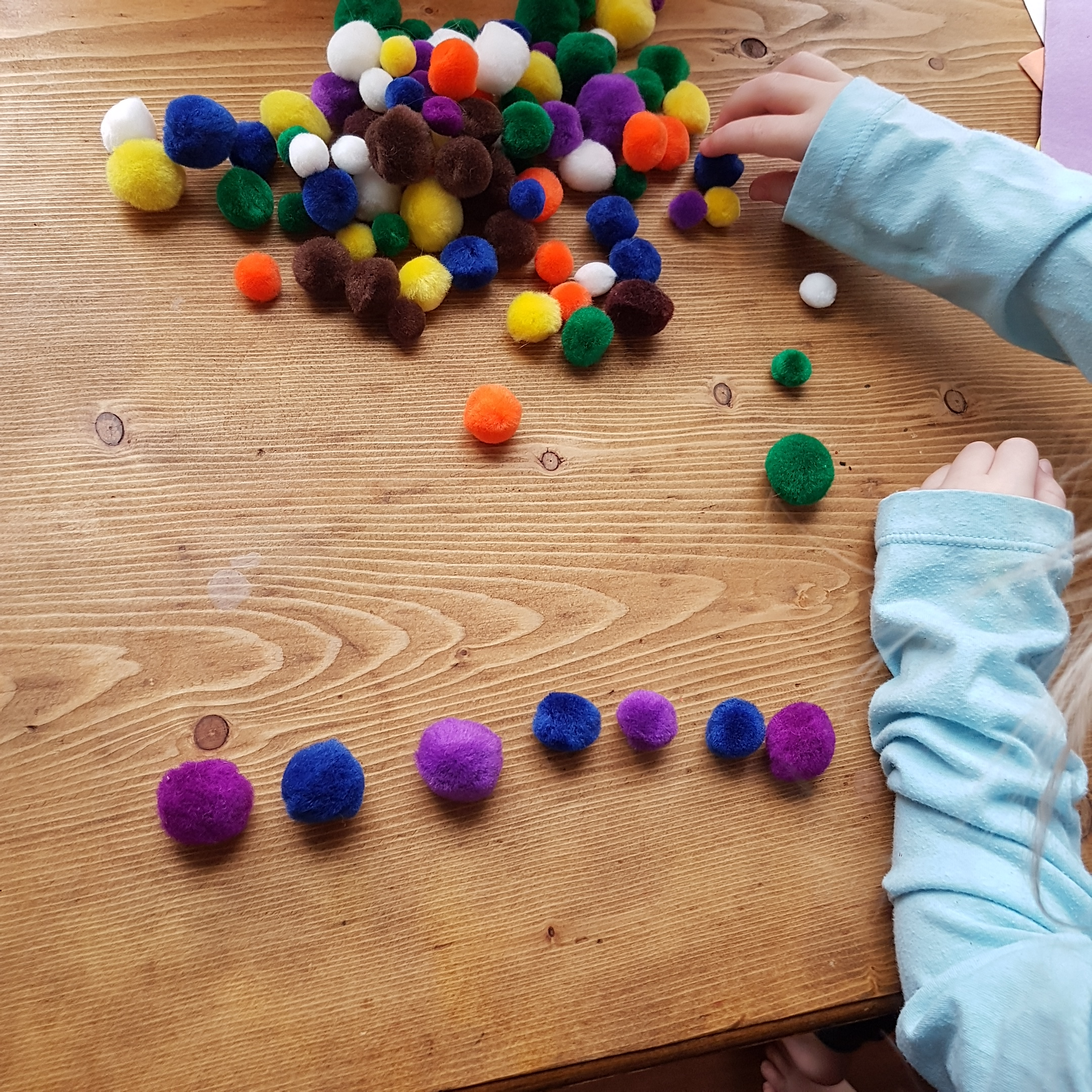 Preschool Counting And Patterns