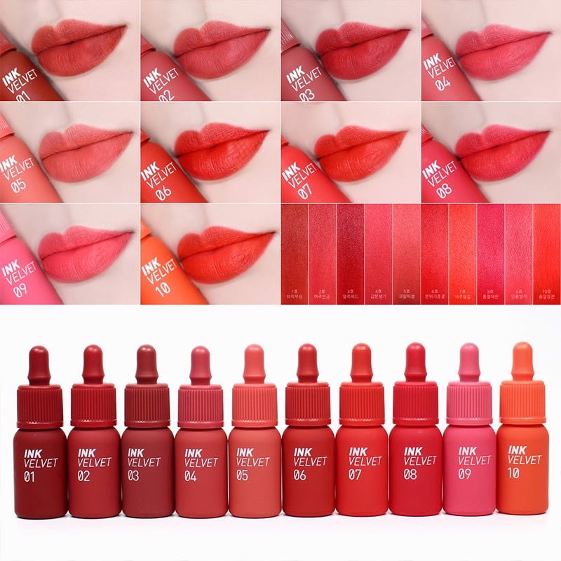 Peripera Ink the Velvet Lip Tint   High Pigment Color