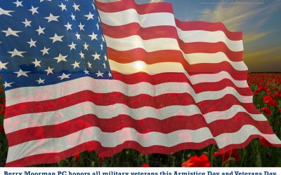 Berry Moorman PC honors all military veterans this Armistice Day and Veterans Day.