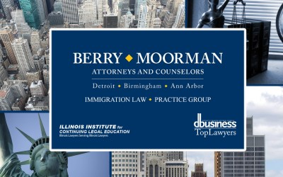 Berry Moorman attorney was a recent contributor to the update of the Illinois Institute for Continuing Legal Education's 2019 Immigration Guide.