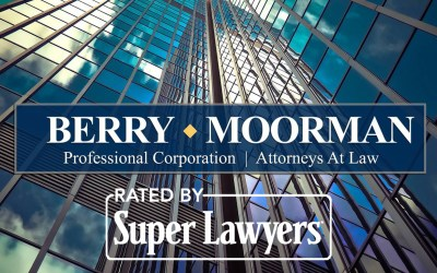Berry Moorman P.C. Attorneys recognized as 2021 Top Lawyers by Super Lawyers