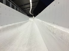 Inside the track