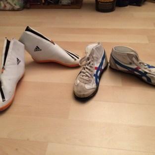 Luge shoes