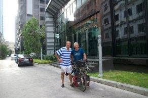 Vertrek vanaf Guus in Bangkok