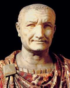 Tito Flavio Vespasiano, primer emperador de la dinastia Flavia.