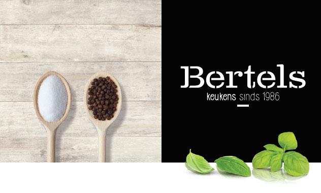 Bertels Keukens - logo met afbeelding