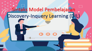 Sintaks Model Pembelajaran Discovery-Inquiry Learning