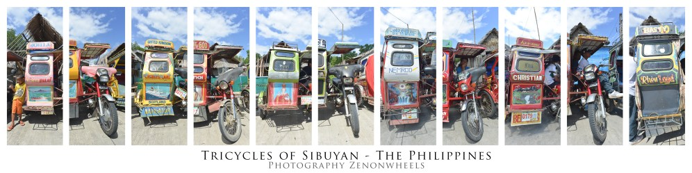 Poster tricycles of Sibuyan lang text
