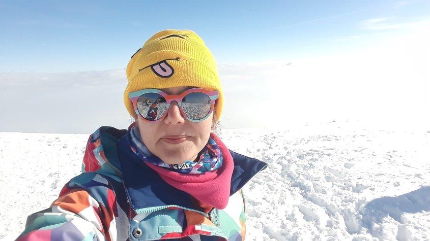 at the top of the Işık mountain