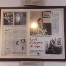 Sofia Rizi (Zofia Ryzy) Ani Evi 's Polonezköy and Rizi family, which are open to public visits, are on display.