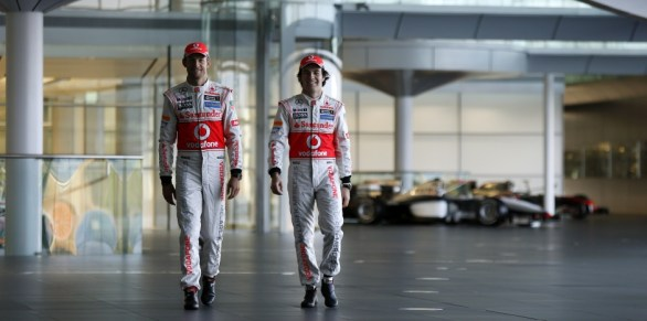 Jenson Button and Sergio Perez - Photo: McLaren