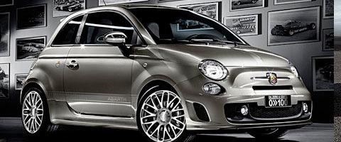 Bombinettes à roulettes : Fiat 500 Abarth et Mini cabriolet