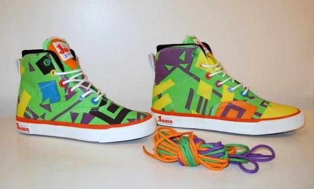 Sneakers Converse Jams : oser la couleur !