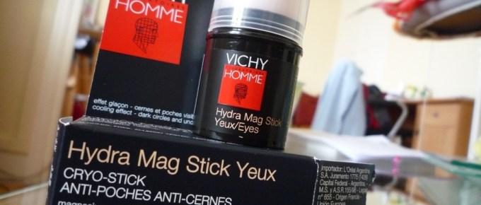 Test d'un anti-poches et anti-cernes Vichy Homme