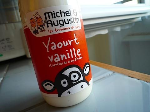 Yaourt vache à boire Michel et Augustin