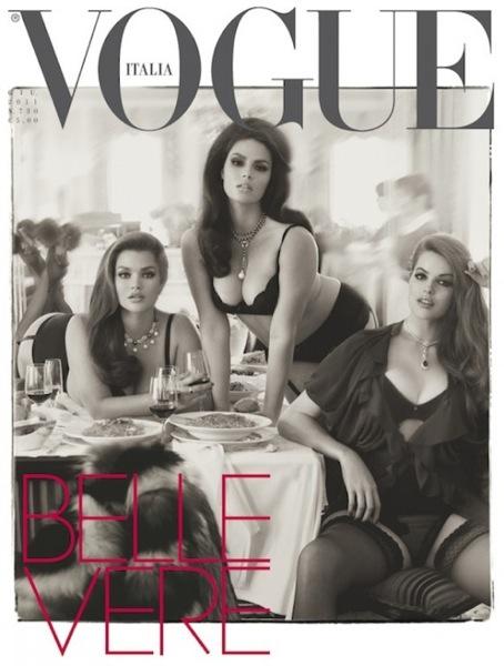 Vogue italie juin 2011 mannequins grande taille 01 582x768